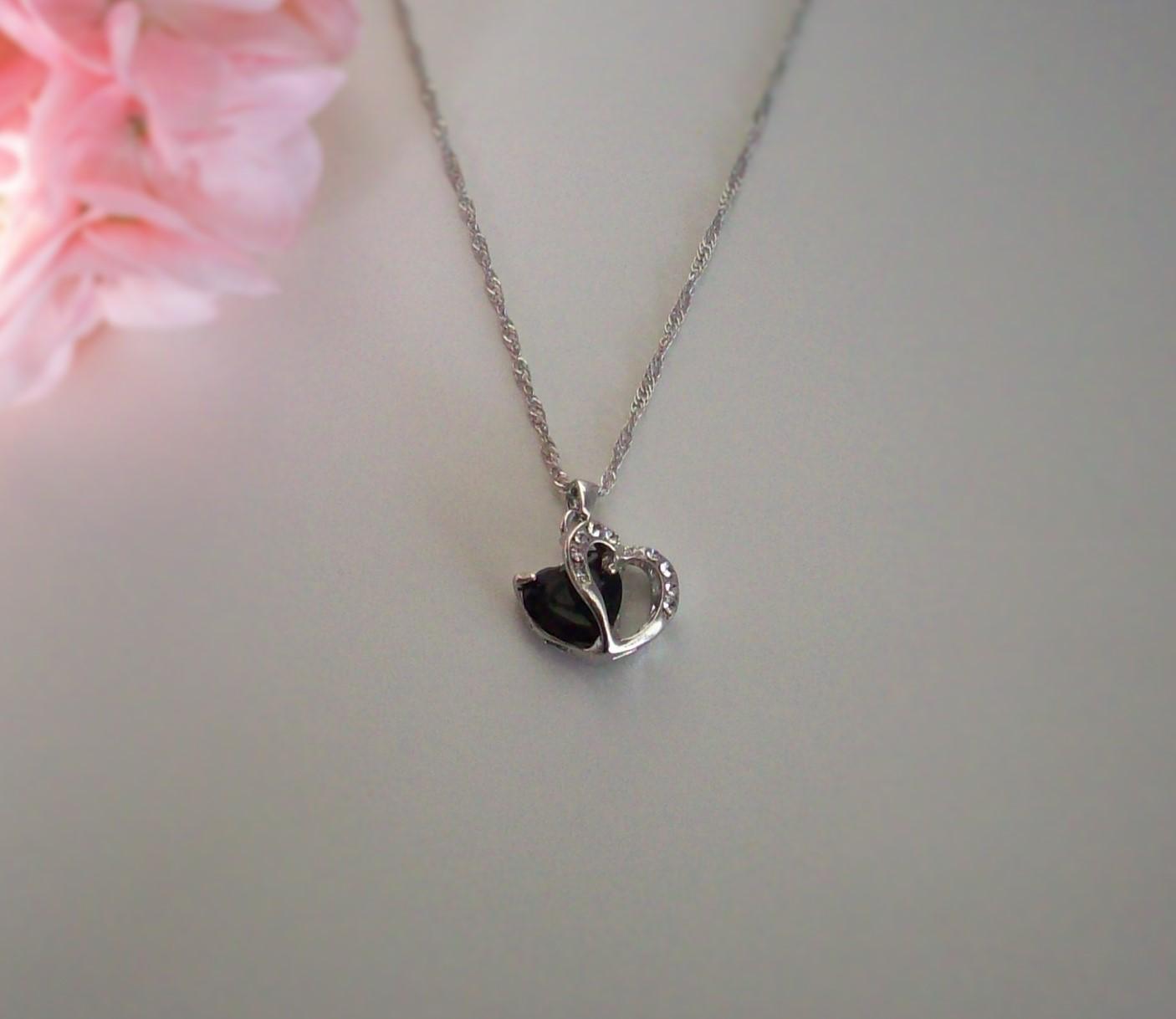 dela hjärta smycke