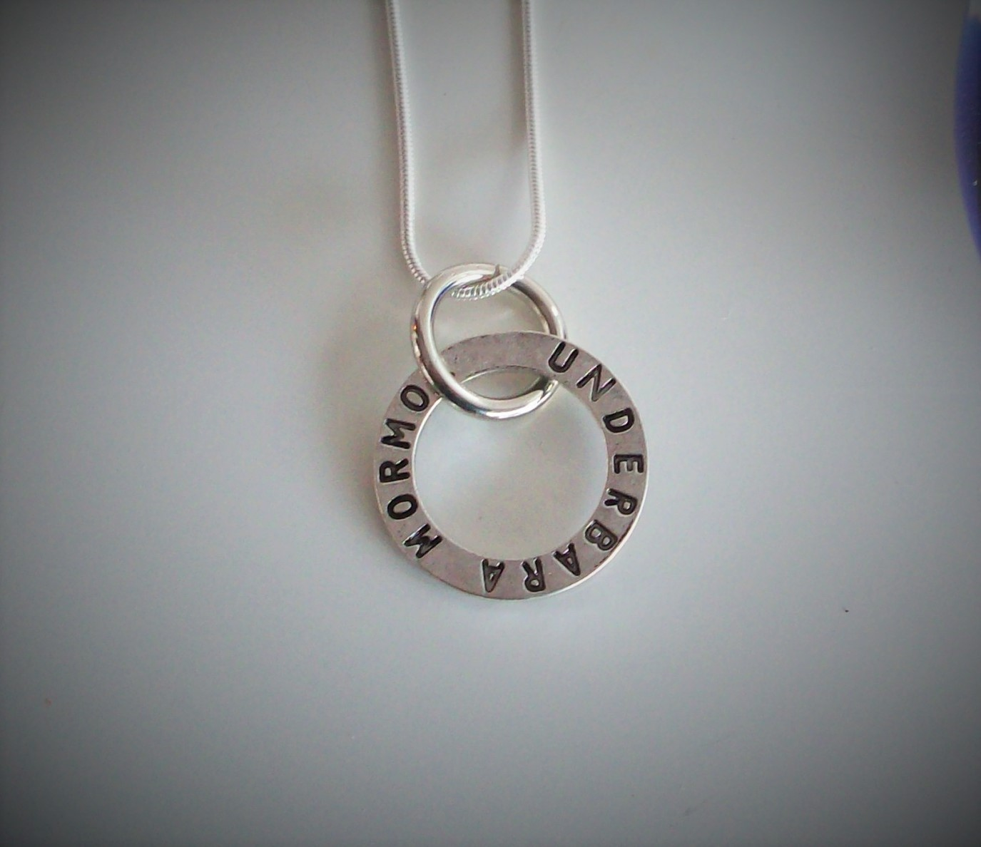 världens bästa mormor smycke